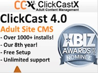 ClickCastX – Adult Site CMS and Cam Script