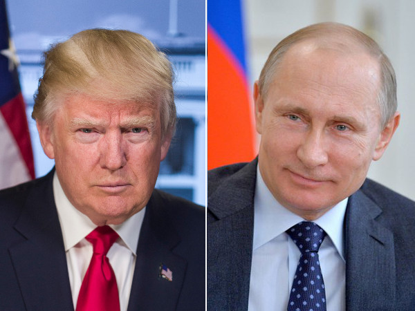U.S. President Donald J. Trump and Russian President Vladimir Putin