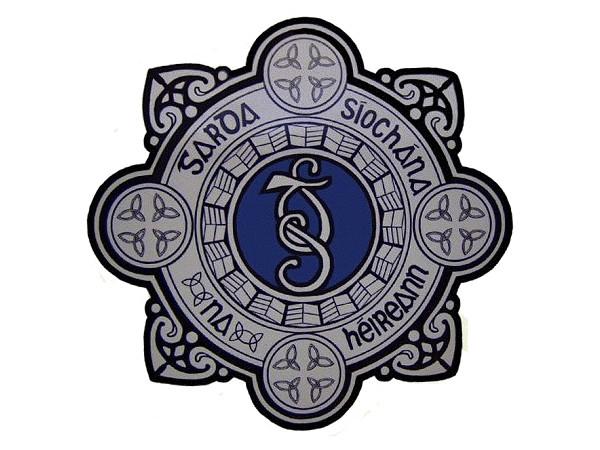 Irish Garda badge