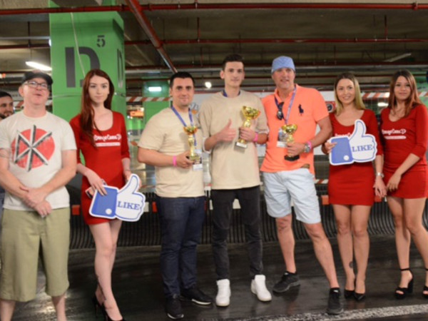 Women struck a blow for gender equality — at least in kart racing — June 6 during the YNOT Grand Prix's Romanian debut.