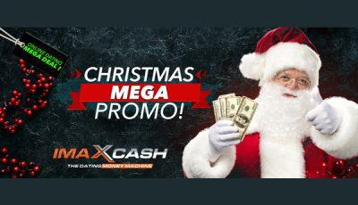 imaxcash Christmas mega promo
