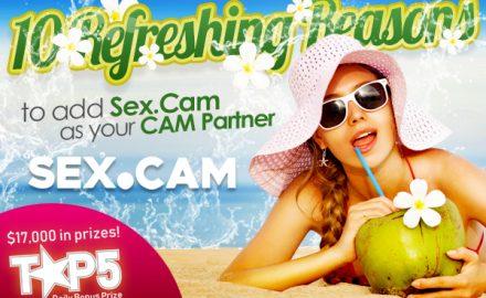 Sex.Cam 10 Refreshing Reasons