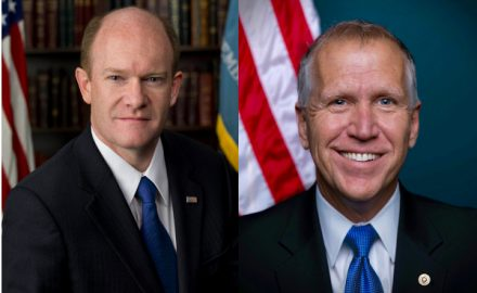 Chris Coons and Thom Tillis