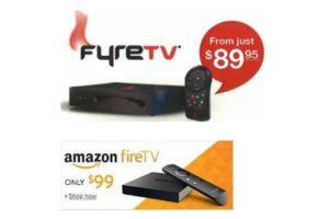 FyreTV and Fire TV
