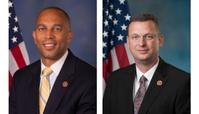 Reps. Hakim Jeffries and Doug Collins