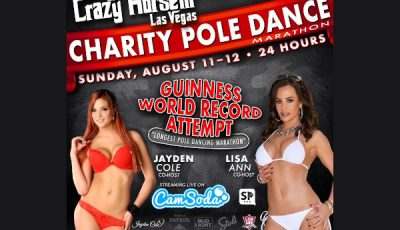 Charity Pole Dancing Marathon