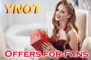 Email Newsletter Fan Offers