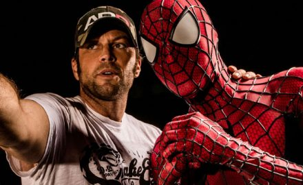 Axel Braun and Spiderman