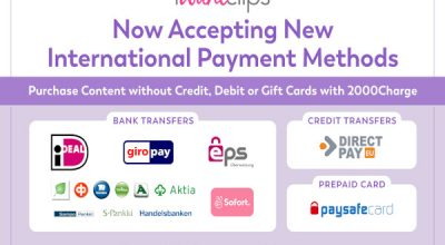 iWantClips New Alternative Payment Methods