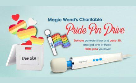 Magic Wand Pride Pin