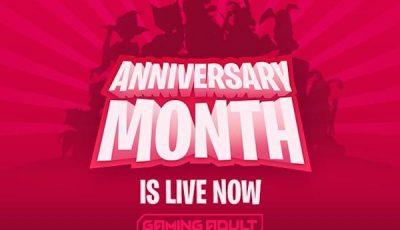 Kinkoid Anniversary Month